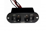 RCCSKJ 3105 DOUBLE SWITCH FOR RECEIVER AND ENGINE ELECTRONIC IGNITI
