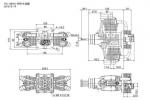 SAITO FG-100TS 4C, TWIN GAS engine Ele/Ign, W/MT Twin Engine (Global Warehouse)