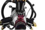 Saito FA170 3-Cylinder Radial SAIE170R3, GLOW CH Ignitions CDI Conversion (Global Warehouse)
