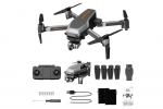 L109 PRO GPS 5G WIFI 800M FPV With 4K HD Camera 2-Axis Mechanical Stabilization Gimbal Optical Flow Positioning RC Quadcopter - Black With Bag Two Batteries (Global Warehouse)