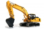 LESU 1/14 Komatsu PC360 Metal Hydraulic Excavator RC Model with Motor ESC Servo