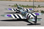 "CYModel 110"" SPITFIRE w/electric retracts in stock (New JP electric retracts) GST Inc"