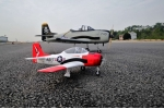 87 Inch 2200 mm Hybrid Material T-28 Trojan Warbird w/JP Electric Retracts/Brake GST Inc (For Pre Order Only)