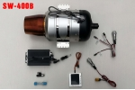 ACE Swiwin Turbine Engine SW-400B 40kg Thrust BLS Starter/Fuel Pump Free Shipping (UAV Version) (Global Warehouse)