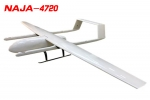 NAJA 4720MM H-TAIL FULL CARBON FIBER VTOL UAV PLATFORM FRAME KIT