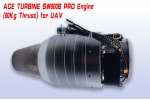 ACE Turbine Engine SW-800B PRO 80kg Thrust One Key AutoStart Free Shipping (UAV Version) Contact us for Pricing