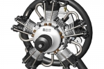 UMS 5-100CC Radial Petrol Engine (New Product, Special pricing for promotion by Pre Order) GST Inc Free Air Shipping