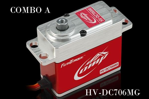 Flite-Torque  Digital HV-DC706 MG  FAST SPEED Servo (AUS Warehouse)