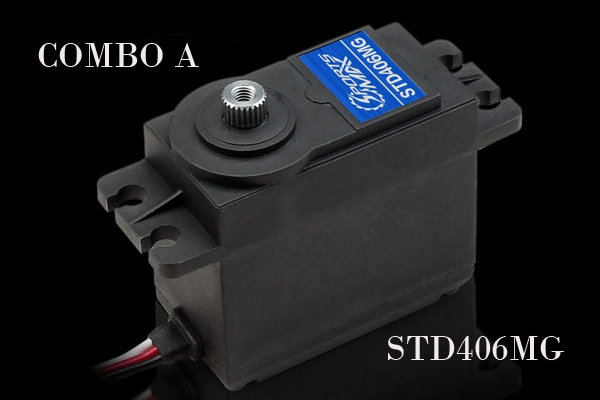Flite-Torque STD 406 MG Standard Servo (Global Warehouse)