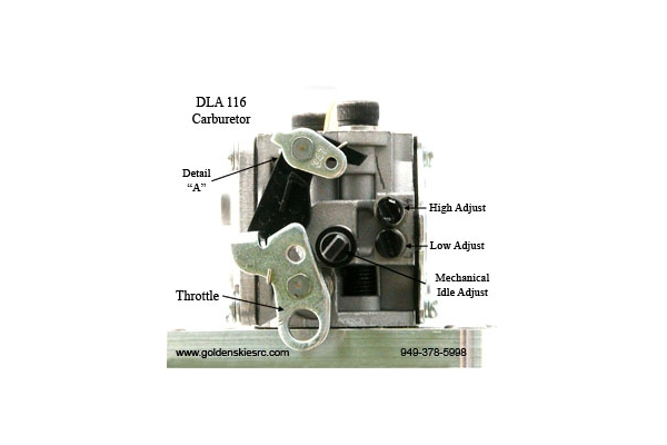 DLA 116 cc Gas Engine (Global Warehouse)