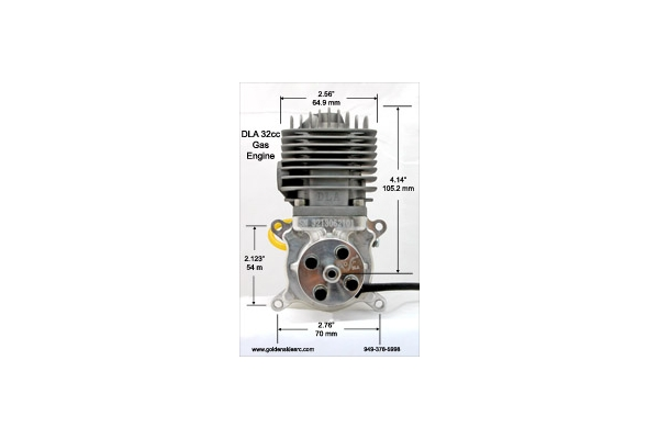 DLA 32 cc Gas Engine (Global Warehouse)