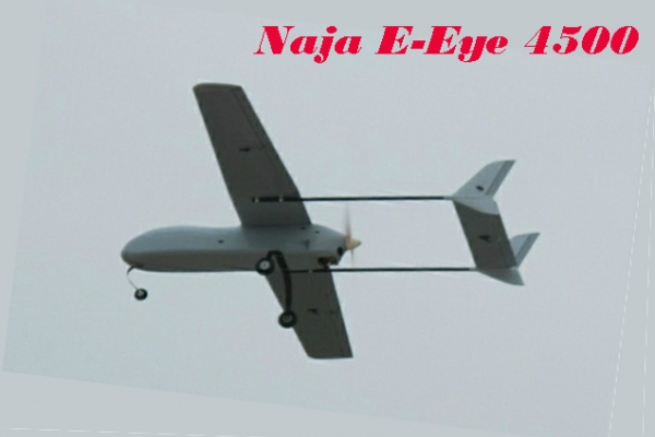NAJA SUPER E-EYE 4500 COMPOSITE H-TAIL FPV/UAV MODEL PLATFORM V1 & V2 (Global Warehouse)