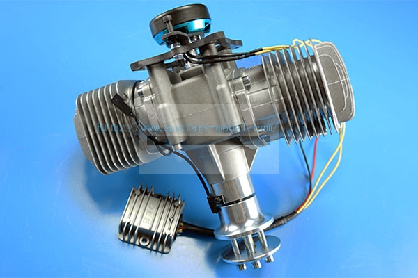 DLE 170CC TWIN UAV ENGINE With 14V 80W Power Generator System (Global Warehouse)