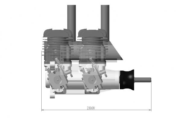 DLA 64CC INLINE ENGINE (Global Warehouse)