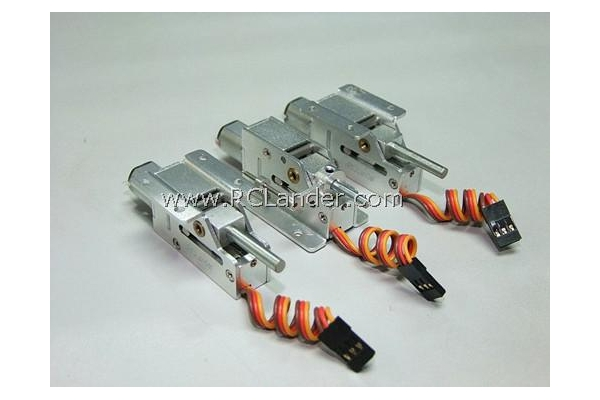 RC Lander V1 Small Full Metal Electric Retract with 3mm Axis ( x 3pcs) for 2 – 3kg Weight (Global Warehouse)