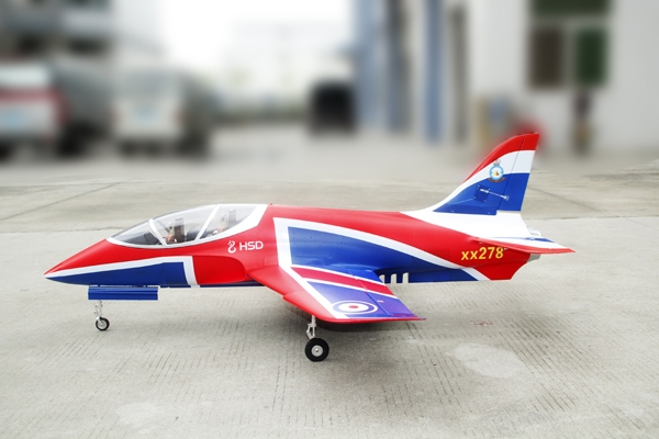 HSD 6 CH Super Viper 105mm(National Flag)Updated version RC EDF Jet 12S PNP Version (Global Warehouse)