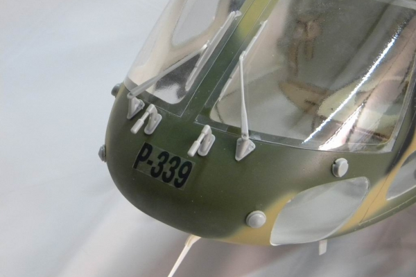 AS550 Eurocopter Scale Helicopter Frame for TREX 600 (ESP) or Thunder Tiger 50SE (Global Warehouse)