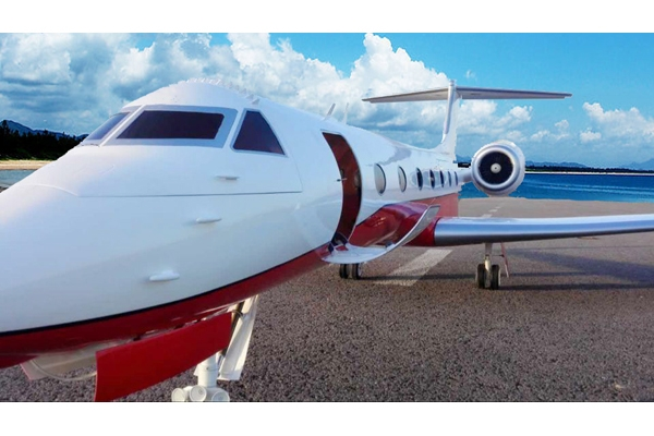 134 inch Composite Gulfstream G550 Turbine Jet or W/Combo package (Global Warehouse)