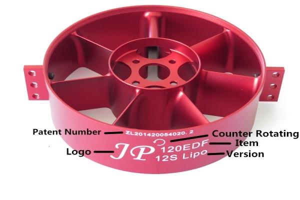 JP Hobby 120mm 12/14S 12 Blade Metal EDF (Global Warehouse)