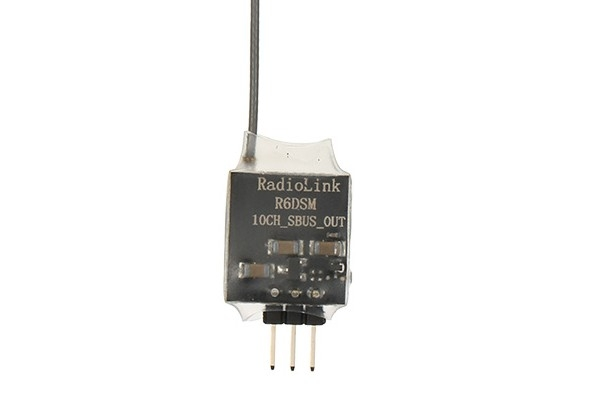 Radiolink R6DSM 2.4G 10CH DSSS FHSS Receiver for AT9 AT9S AT10 AT10? PPM SBUS Output (Global Warehouse)