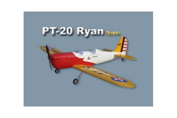PT-20 Ryan 1100mm KIT electric  Fiberglass & Wood RC model airplane  without electric part (Global Warehouse)