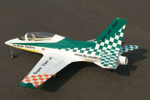 RC  world Viper Jet (Green) for 10kg turbine (Global Warehouse)
