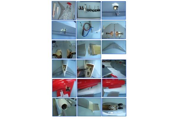 MD11 Epoxy 70 Fan /Balsa wood wings (Global Warehouse)