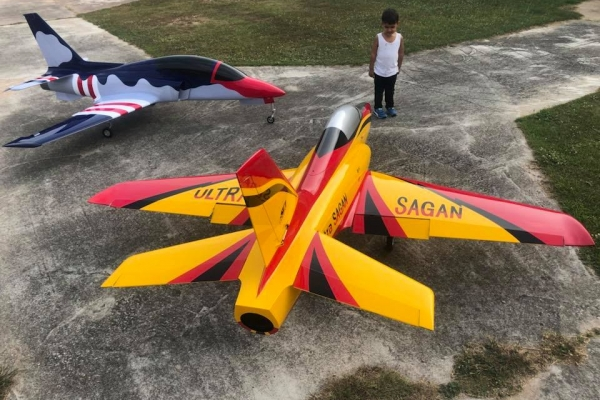Ace Composite 2.8 M Sagan Turbine Sports jet (AUS Warehouse)