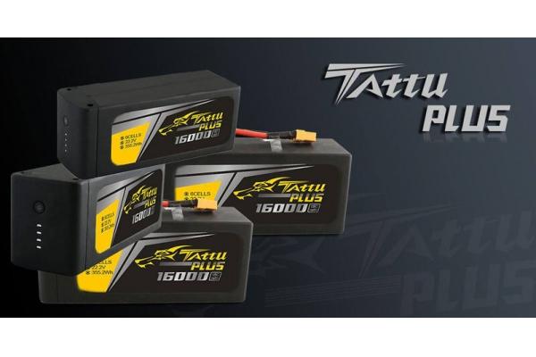 Tattu Plus 12000mAh 22.2V 15C 6S1P Lipo Smart Battery Pack with AS150 + XT150 plug (Global Warehouse)