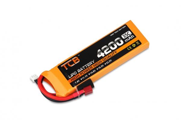 TCB 2S 7.4V 4200mAh 35C Lipolymer battery (Global Warehouse)