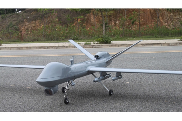 3m UAV Scale Predator of Fiberglass/Balsa Construction KIT (Global Warehouse)