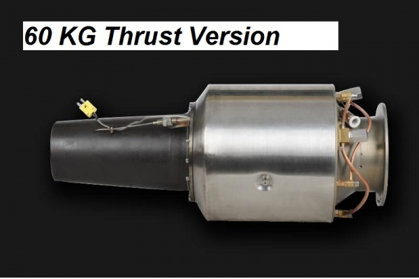60 Kg Thrust Turbine Engine for Target Drone UAV UAS (Contact us for pricing) (Global Warehouse)