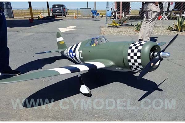 96 inch P47B Thunderbolt 60-100cc Scale warbird (Pre order accepted now) (Global Warehouse)