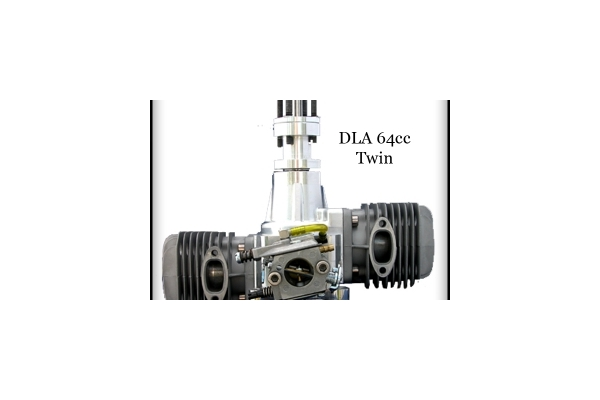 DLA 64 cc TWIN Gas Engine (Global Warehouse)