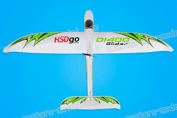 HSD 1.4 meter surfer glider RTF (Global Warehouse)
