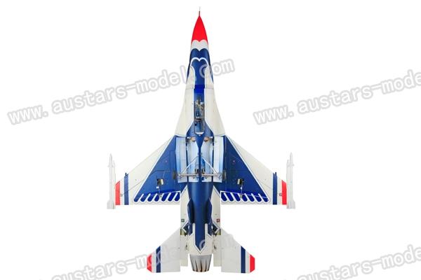 HSD F16 vortex jet blue thunderbird color coated vortex jet KIT (Global Warehouse)