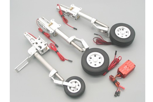 JP HOBBY ER-150 ELECTRIC RETRACT LANDING GEAR SET FOR SEBART 2.0M AVANTI S & 2.1M AVANTI S FC (Global Warehouse)