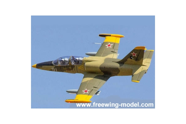 Freewing L-39 Albatros Camo 80mm EDF Jet PNP RC Airplane (Global Warehouse)