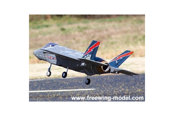 Freewing F-35 Lightning II V3 70mm EDF Jet - PNP RC Airplane (Global Warehouse)