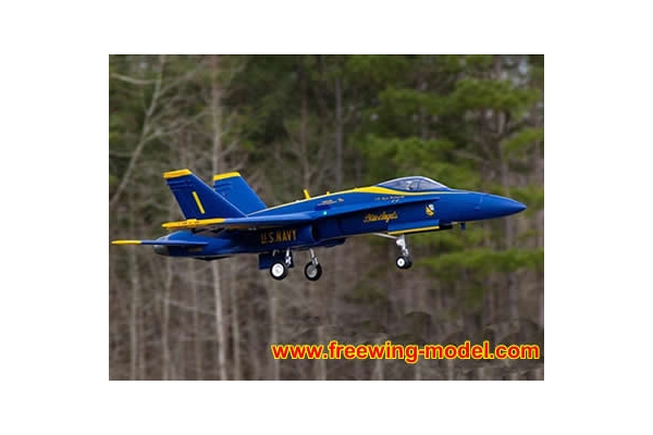 Freewing F/A-18C Hornet Blue Angels 90mm EDF Jet PNP RC Airplane (Global Warehouse)