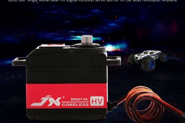 JX PDI-HV5932MG 32KG  Angle Metal Gear HV Digital Coreless Servo Free Shipping (Min Q:7) (Global Warehouse)