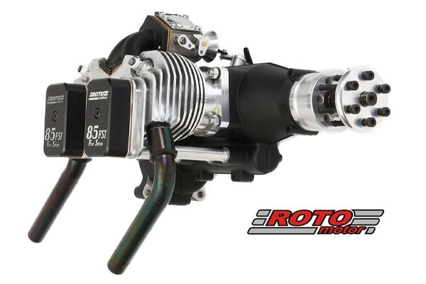 ROTO 85 FSI - two cylinder four stroke Inline gasoline engine (Global Warehouse)