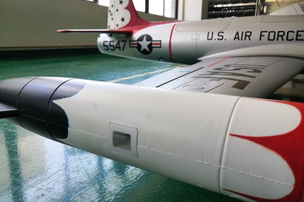 HSD T-33 Foam Jet Shooting Star Turbine version in two color schemes PNP GST Inc (Pre order Only) (AUS Warehouse)