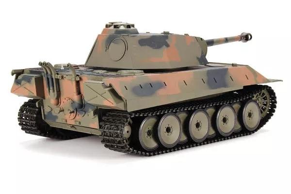 Heng Long 1/16 2.4G 3819-1 German Panther Snow Leopard Battle Tank RC Tank (Global Warehouse)
