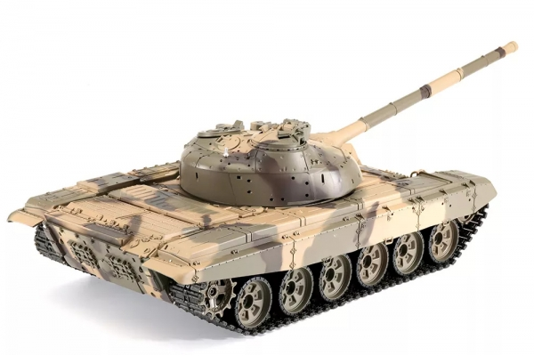 Heng Long 6.0 3938-1 1/16 2.4G Russian T-90 Rc Car Battle Tank With Smoking Sound Plastic Version Toys (Global Warehouse)