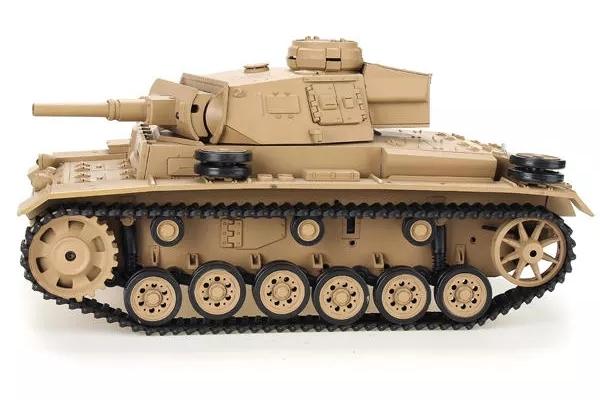 Heng Long 1/16 2.4G 3849-1 Tauch Panzer III Ausf.H RC Battle Tank (Global Warehouse)