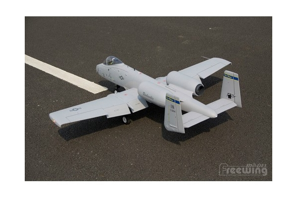 Freewing A-10 Thunderbolt II Twin 80mm EDF Jet PNP Version With Battery (Global Warehouse)