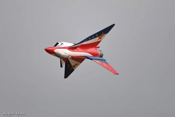 Ace Composite 2.7 M Chengdu J-10 3D version with vector nozzle (All in one) GST Inc (AUS Warehouse)