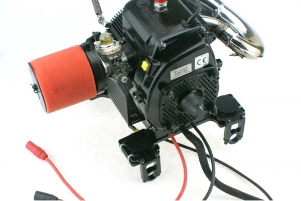 H2 plus Engine W/2400W Output 50V for Hybrid Drone UAV VTOL Multiroters (7 Hours) (Global Warehouse)