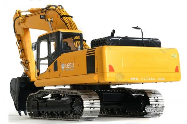 LESU 1/14 Komatsu PC360 Metal Hydraulic Excavator RC Model with Motor ESC Servo (Global Warehouse)
